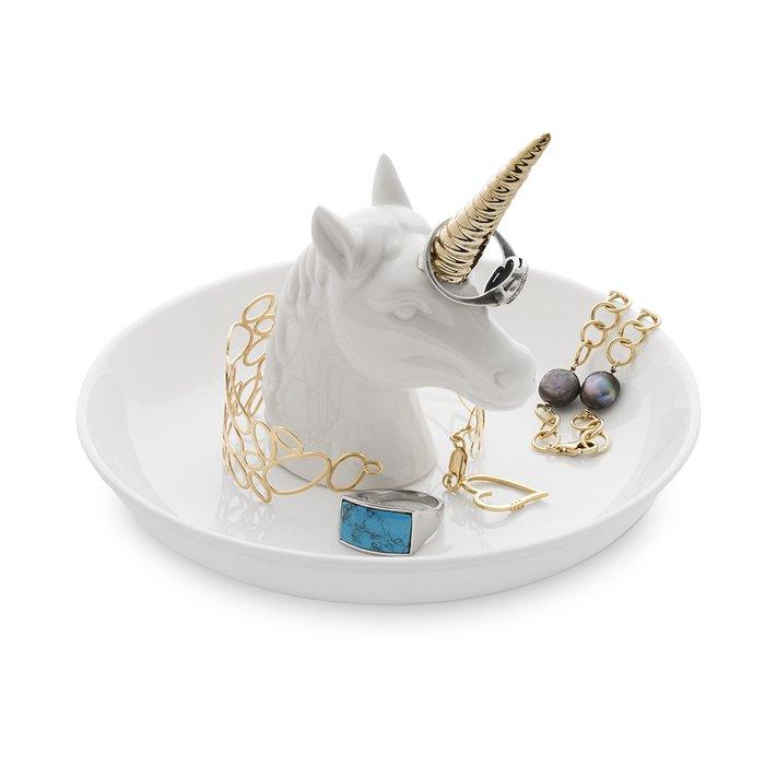 Подставка для украшений Unicorn XL белого цвета