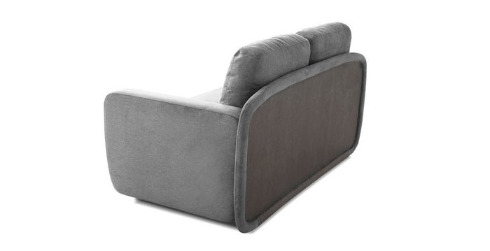Кушетка-кровать Альта серого цвета