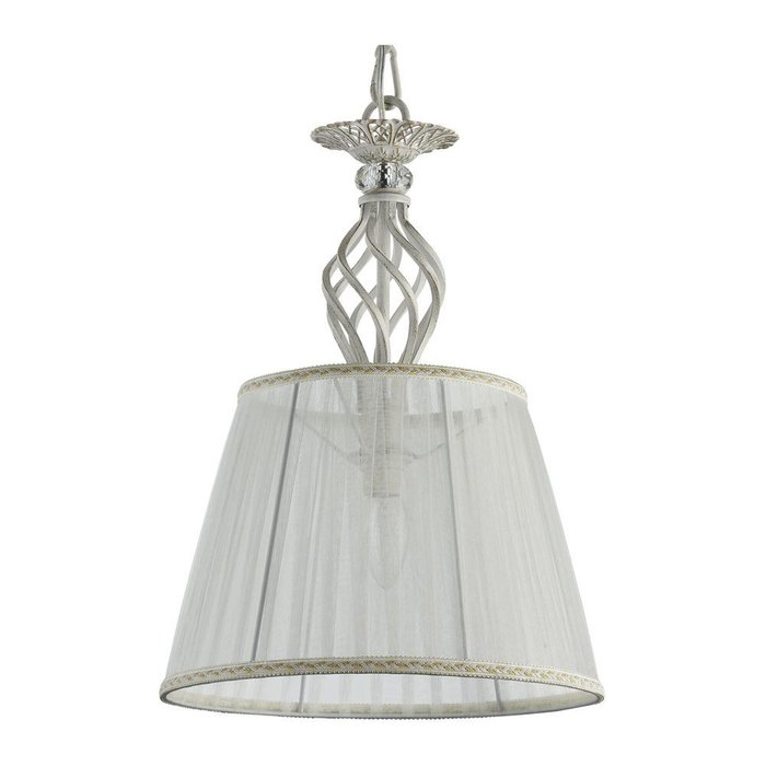 Подвесной светильник Grace с основанием бело-золотого цвета
