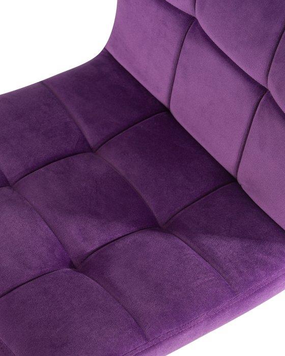 Стул барный Dominic фиолетового цвета