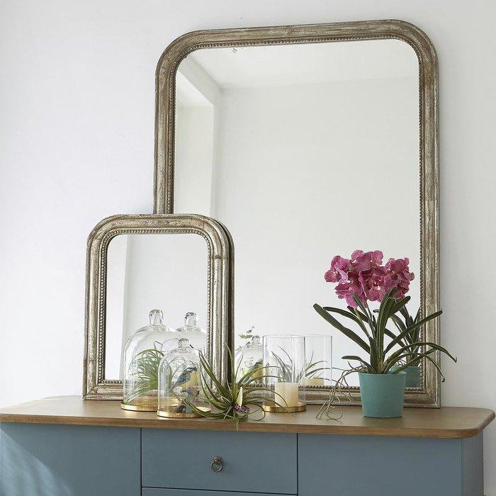 Настенное зеркало Afsan в раме из массива мангового дерева