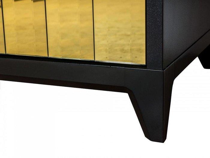 Комод Dante с фасадом золотого цвета