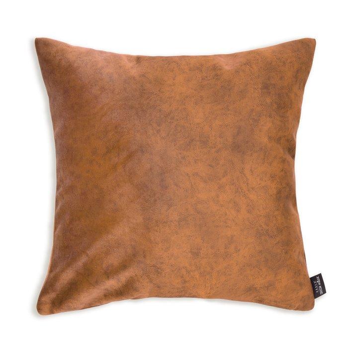 Декоративная подушка Goya honey коричневого цвета
