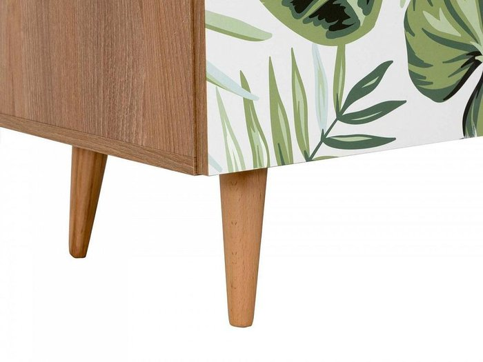 Композиция Frida 4 с принтом Village на деревянных ножках