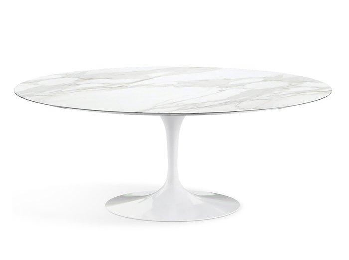 Обеденный стол Apriori T белого цвета