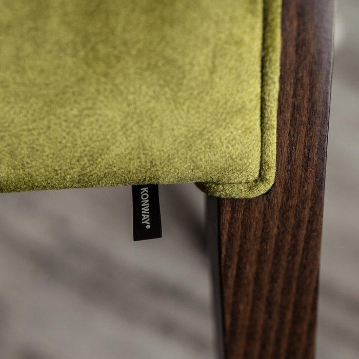 Кресло Serena цвета мха