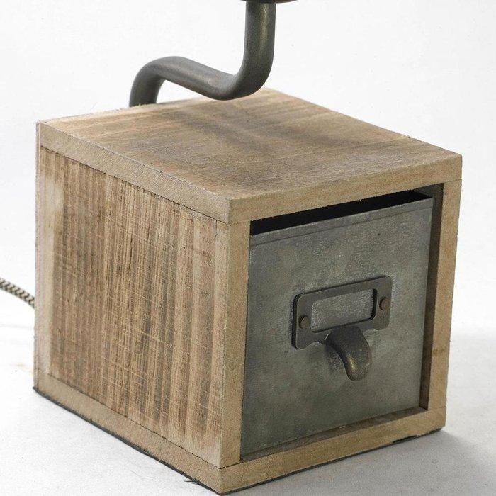 Настольная лампа с ящиком
