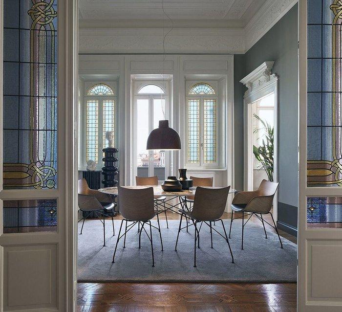 Кресло  Q/Wood цвета ясеня темный
