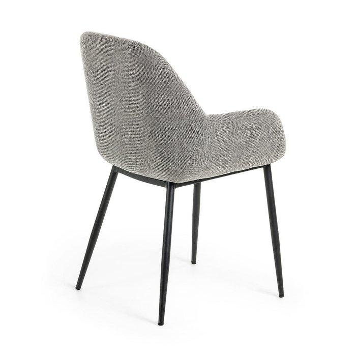Кресло Koon серого цвета