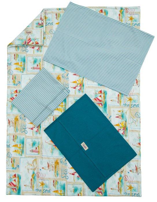 Набор  постельного  белья  «Морское  путешествие»  (3+)