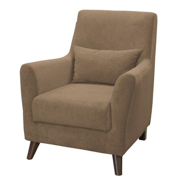 Кресло Либерти коричневого цвета
