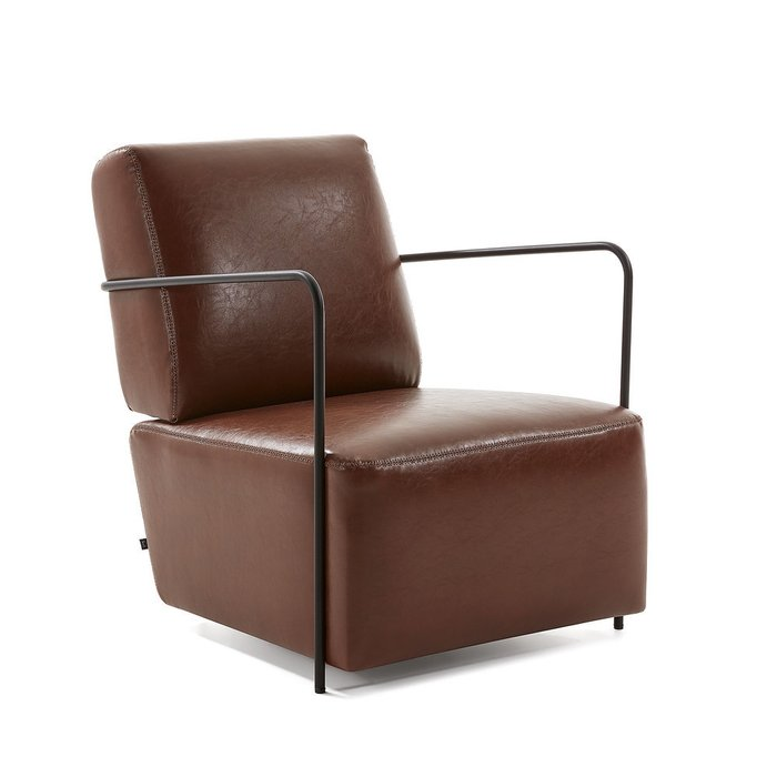 Кресло Gamer коричневого цвета
