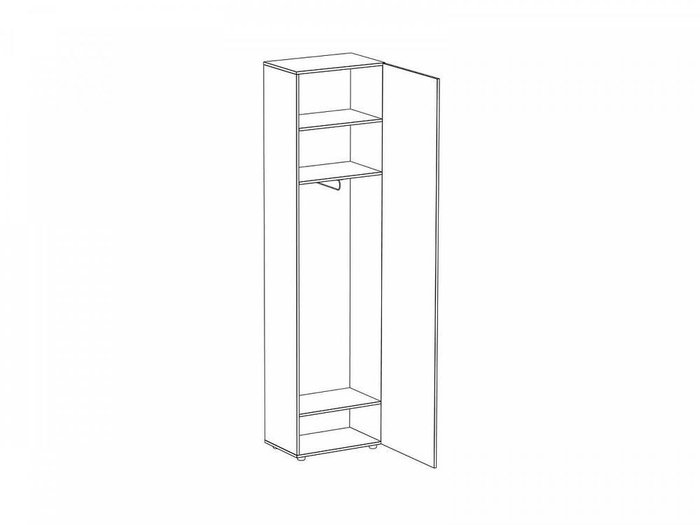 Шкаф Modus с серым фасадом