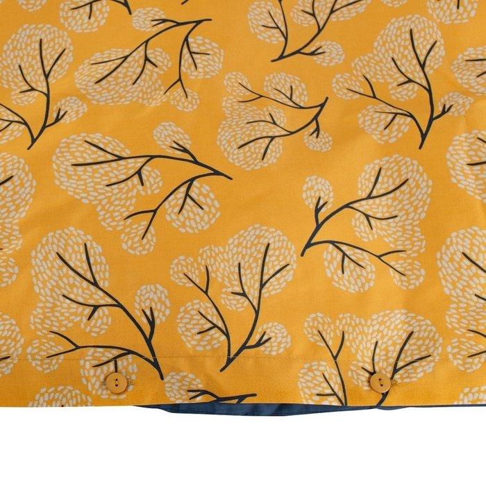 Пододеяльник двухсторонний с принтом Сибирский цветок 200х200