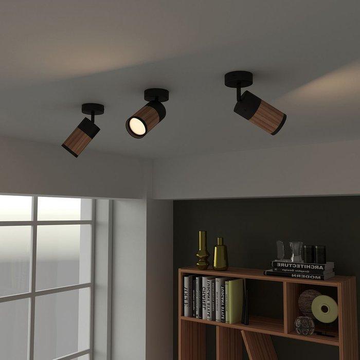 Потолочный точечный светильник Vector Unit из оливкого ясеня