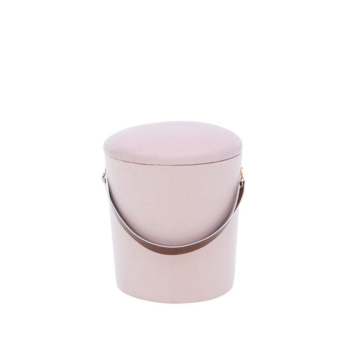 Пуф Бакет бежево-розового цвета