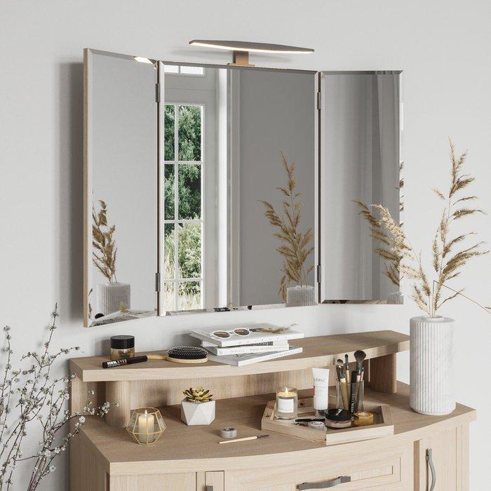 Настенное зеркало-трельяж Магна с подсветкой