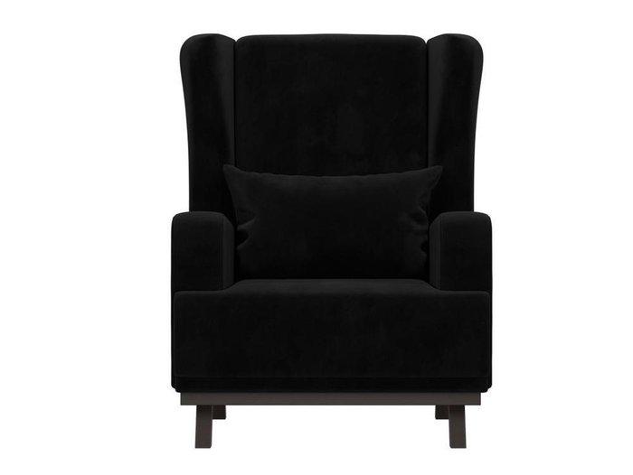 Кресло Джон черного цвета
