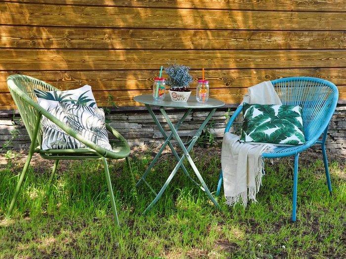 Стол Breeze Blue из металла