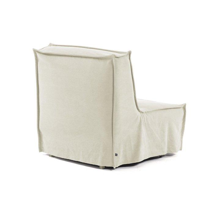 Кресло-кровать Lyanna белого цвета