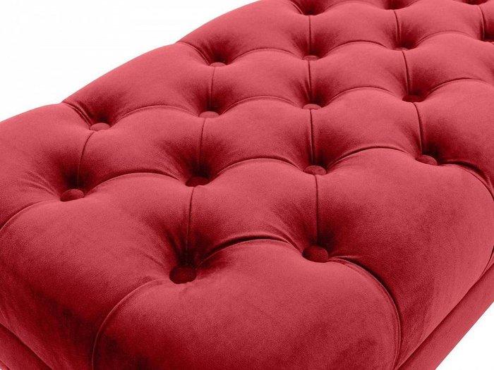 Банкетка Jazz красного цвета