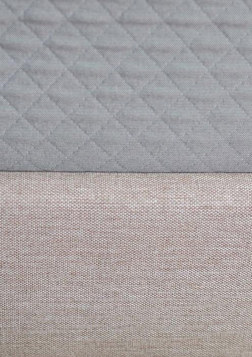 Кровать Beige с изголовьем бежевого цвета 180х200