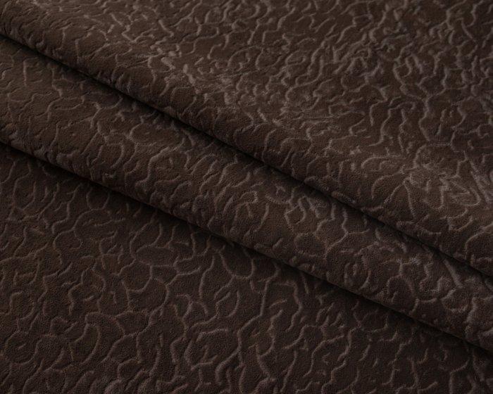 Покрывало Uno Senora Chocolate 140x210 темно-коричневого цвета