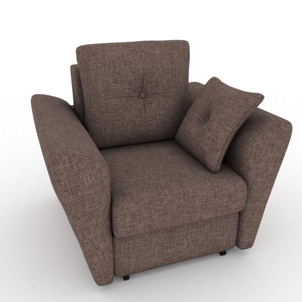Кресло-кровать Neapol коричневого цвета