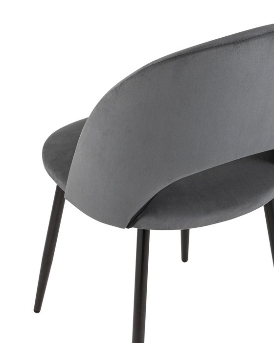 Стул Софи тёмно-серого цвета
