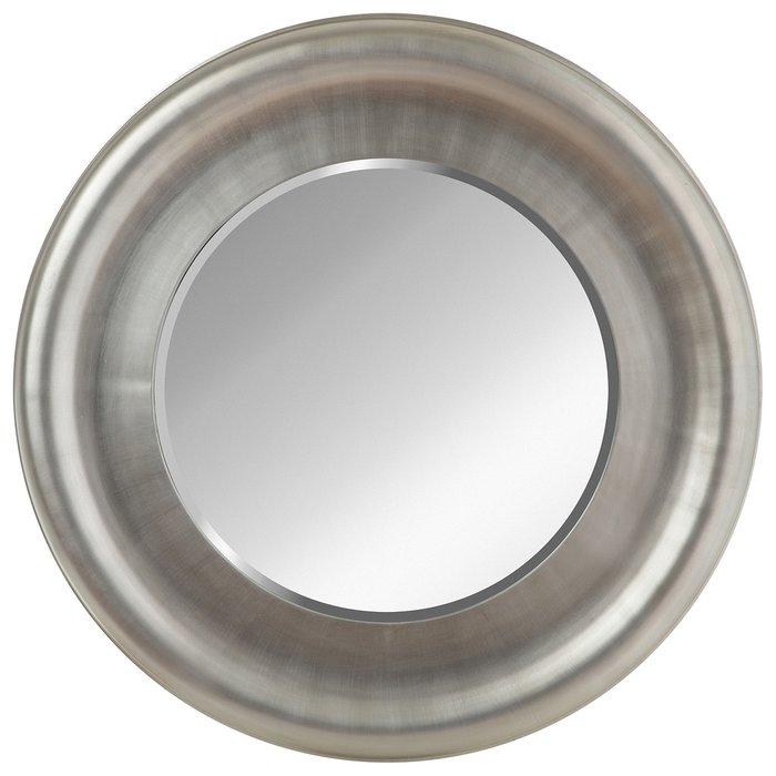 Зеркало настенное Вена серебряного цвета