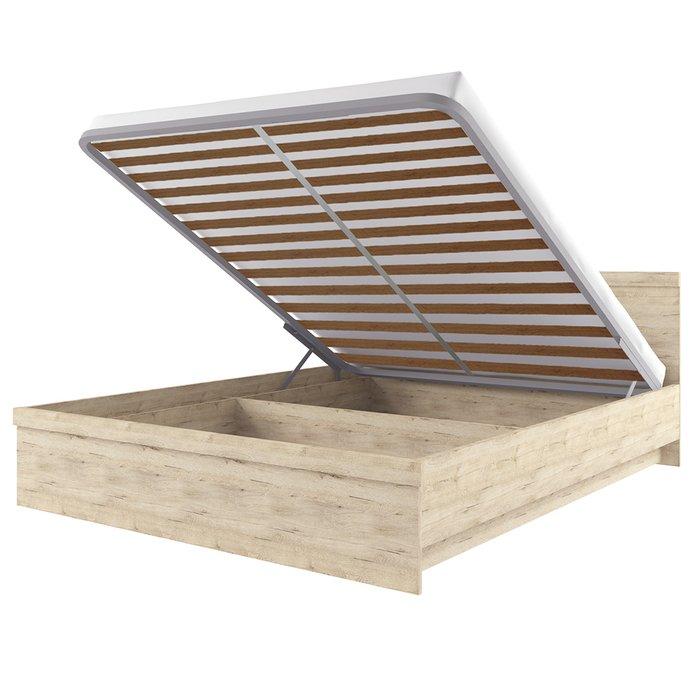 Кровать Oskar с подъемником 140х200 цвета дуб Санремо