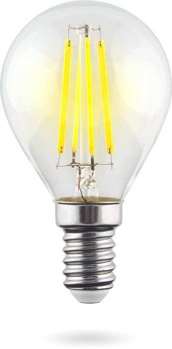 Лампа светодиодная Globe шар прозрачный