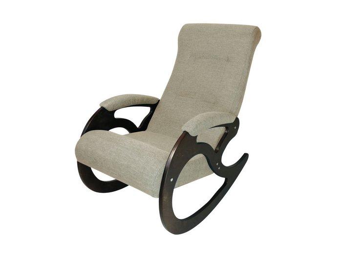 Кресло-качалка Венера бежевого цвета