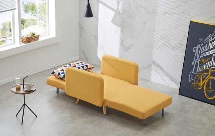 Кресло-кровать Cardiff желтого цвета