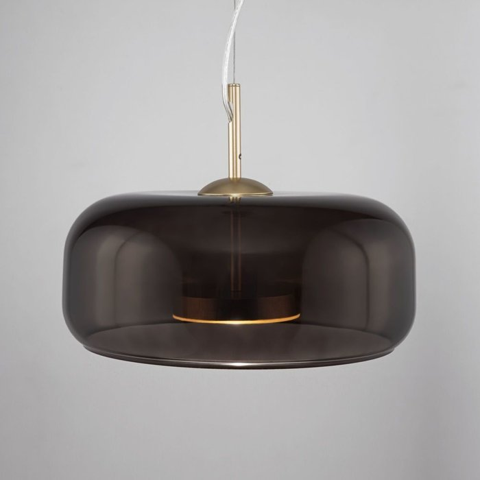 Подвесной светильник Madmen L коричневого цвета