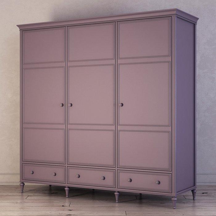 Шкаф трехстворчатый Riverdi фиолетового цвета