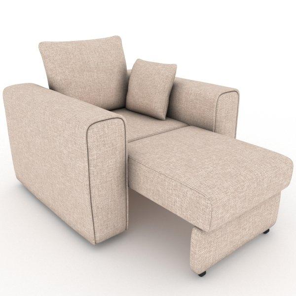 Кресло-кровать Giverny бежевого цвета