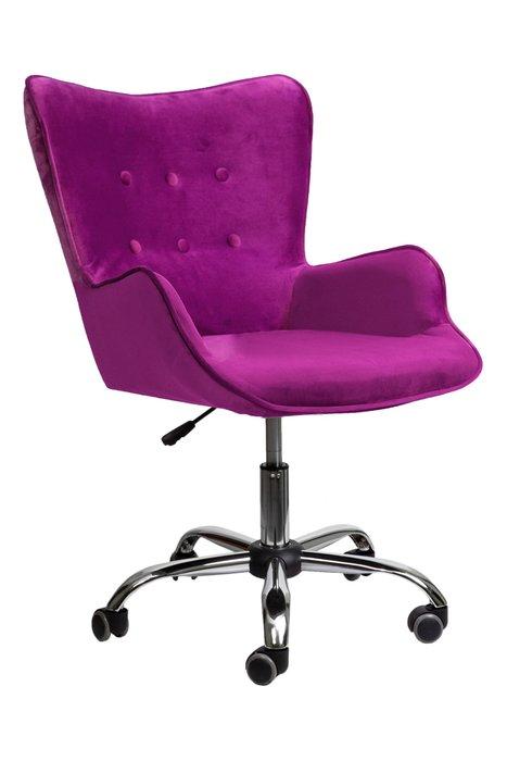Кресло поворотное Bella фиолетово-пурпурного цвета