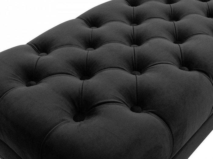 Банкетка Jazz черного цвета