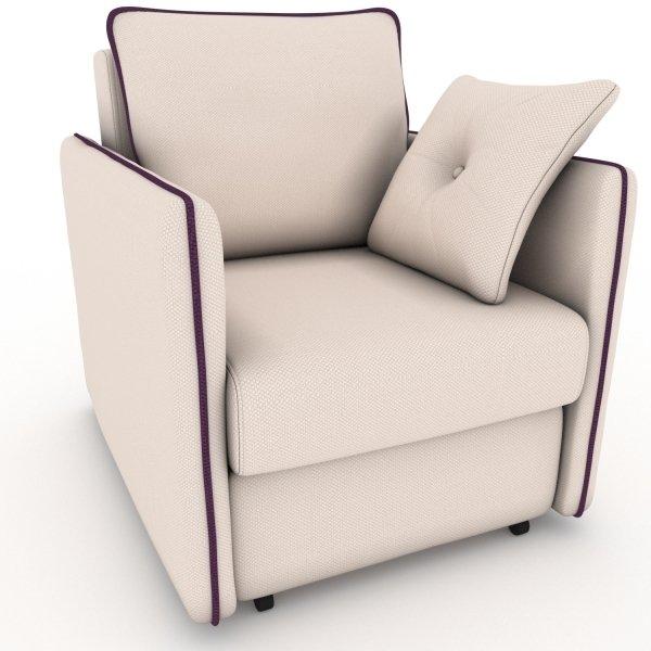 Кресло-кровать Cardinal бежевого цвета