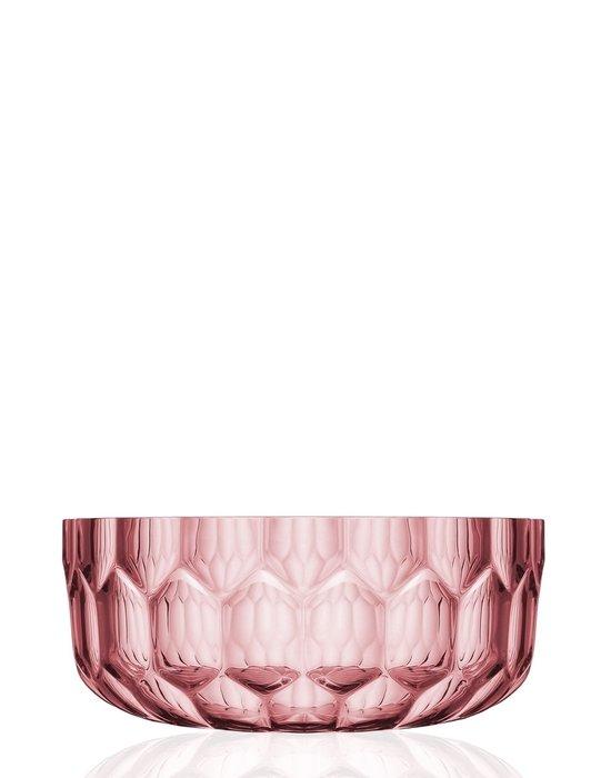 Салатница Jellies Family розового цвета