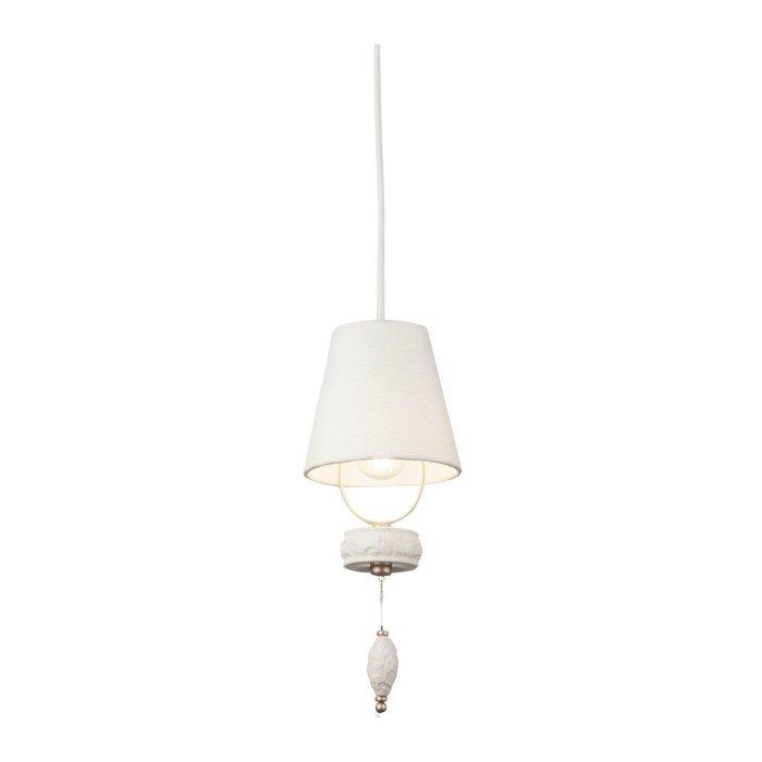 Подвесной светильник Roma с кремовым абажуром