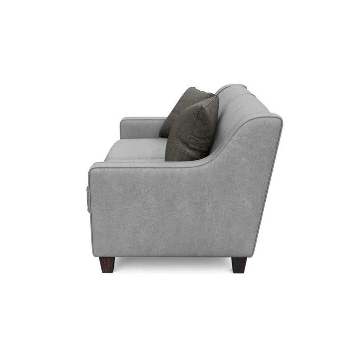 Двухместный диван Агата S серого цвета