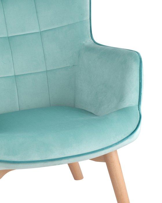 Кресло Манго мятного цвета