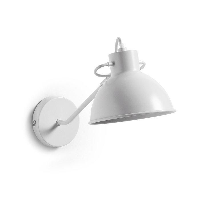 Настенный светильник ODALIS металлический белый