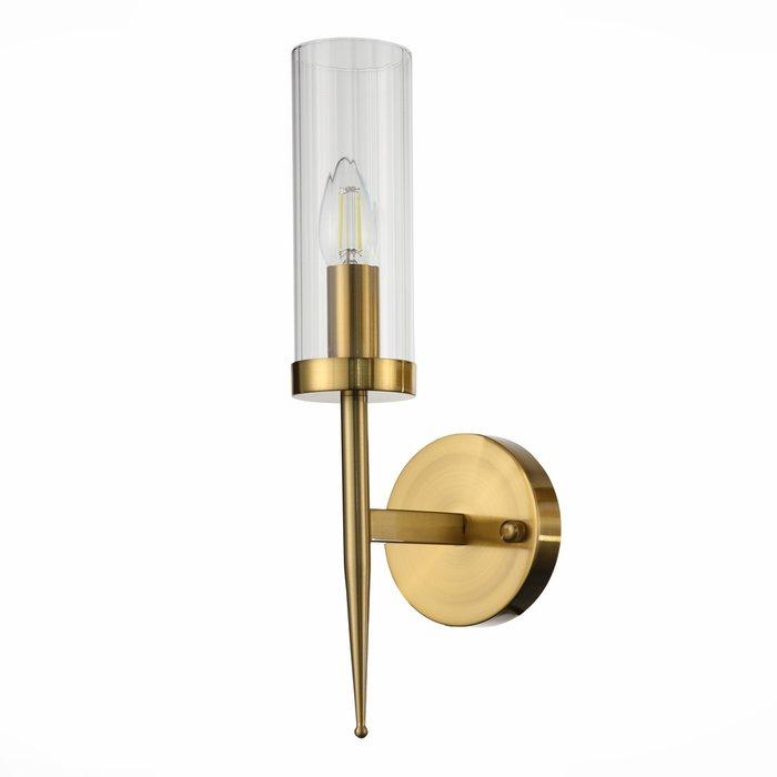 Светильник настенный Acazio с прозрачным плафоном