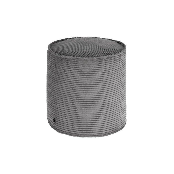 Пуф Zizi fabric grey серого цвета