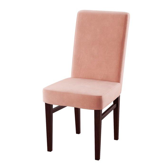 Стул мягкий Zanna розового цвета