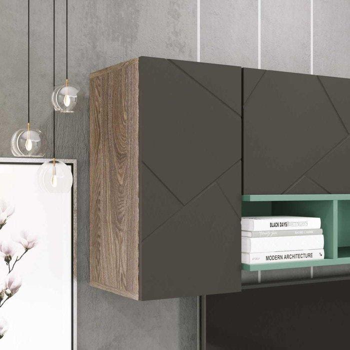 Шкаф распашной Селеста цвета софт графит