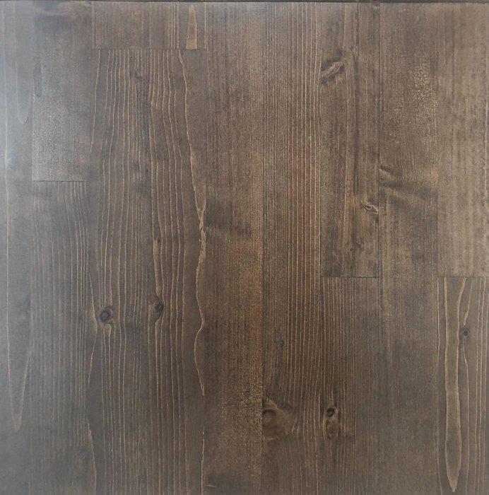 Стол консольный Бервин с серой полкой